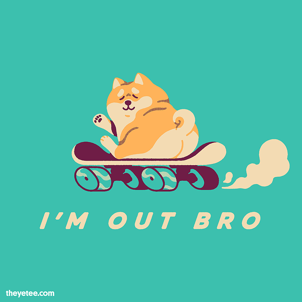 The Yetee: I'm Out