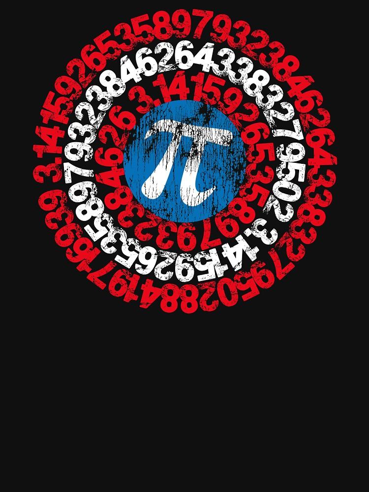 RedBubble: Captain Pi Superhero Shield Nerdy Math Pi Day