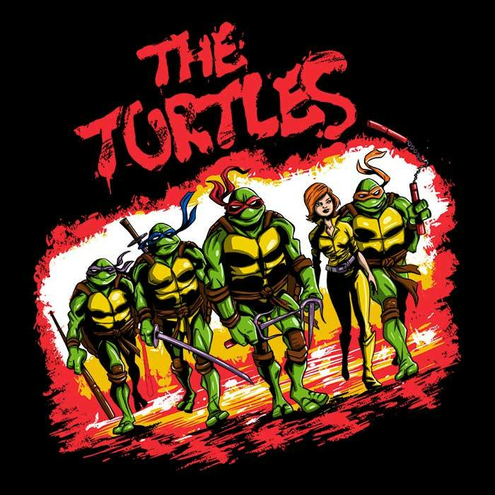 Once Upon a Tee: The Turtles