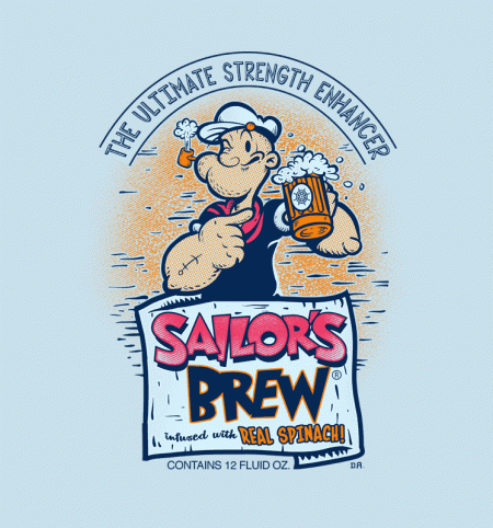 BustedTees: Sailor's Brew