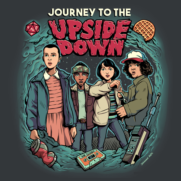 NeatoShop: Journey To The Upside Down - Charcoal