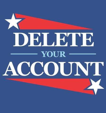 BustedTees: Delete Your Account