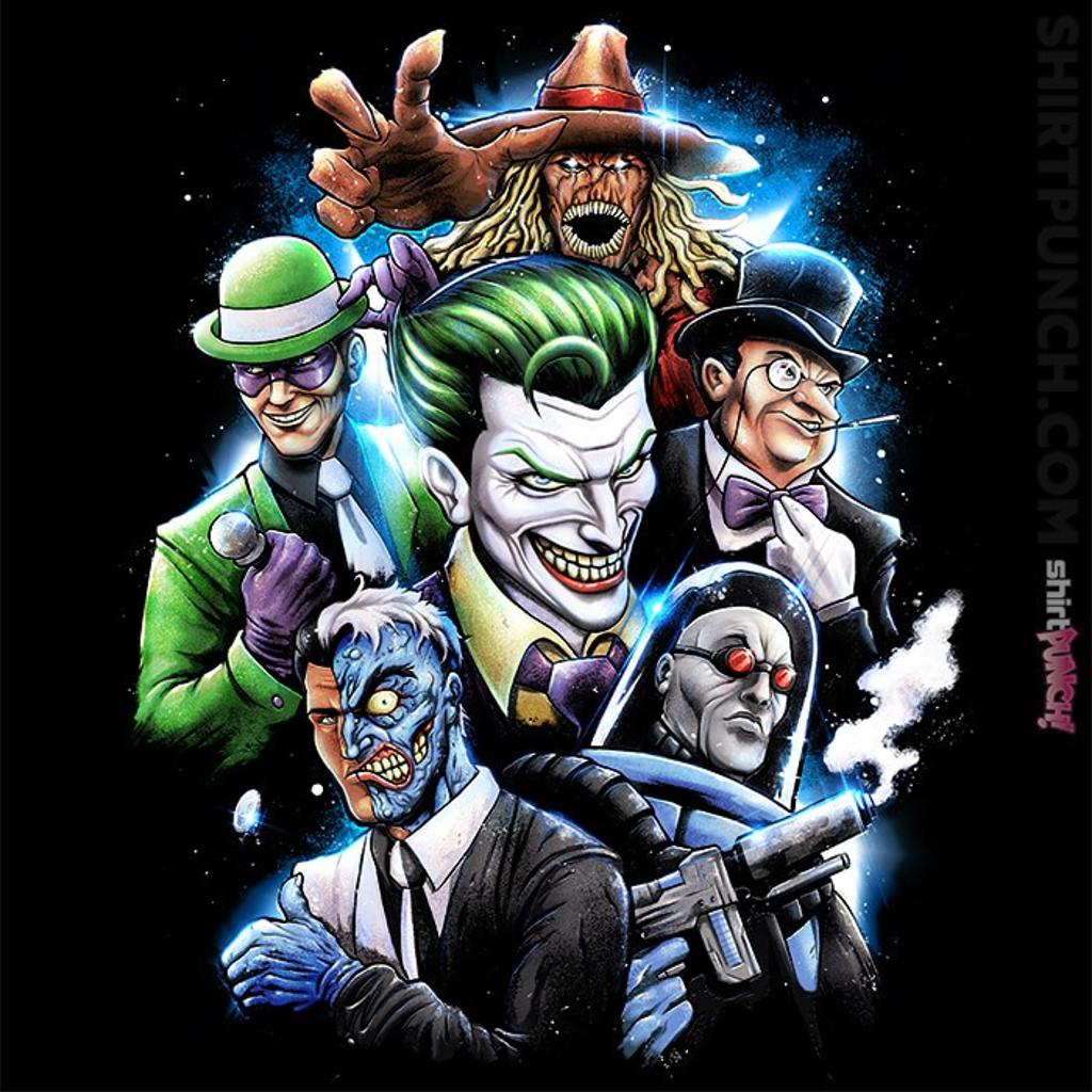 ShirtPunch: Gotham Villains
