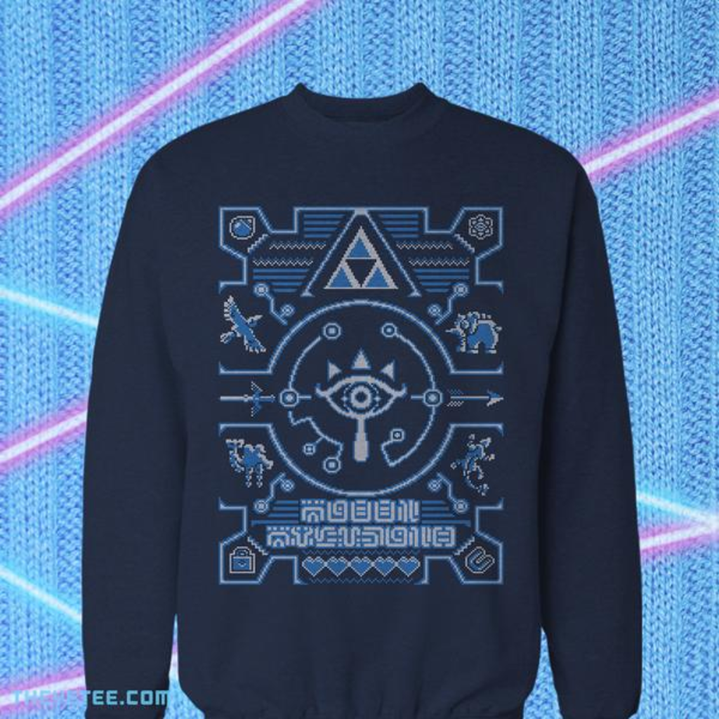 The Yetee: Ugly Sheikah Sweater