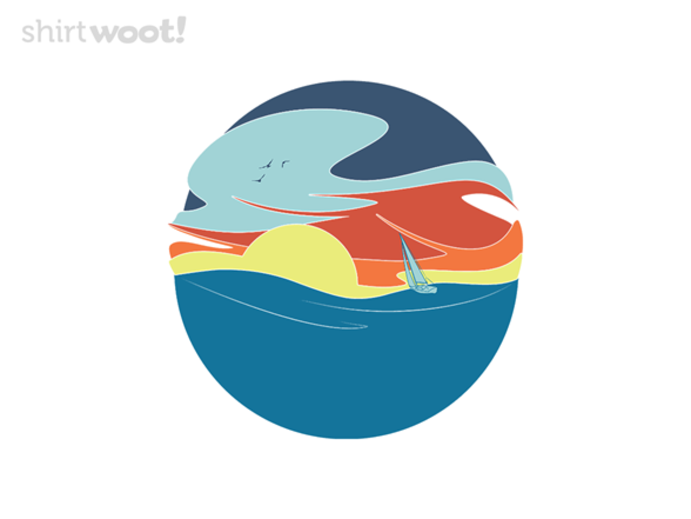 Woot!: Sailing to the Sunset - $8.00 + $5 standard shipping
