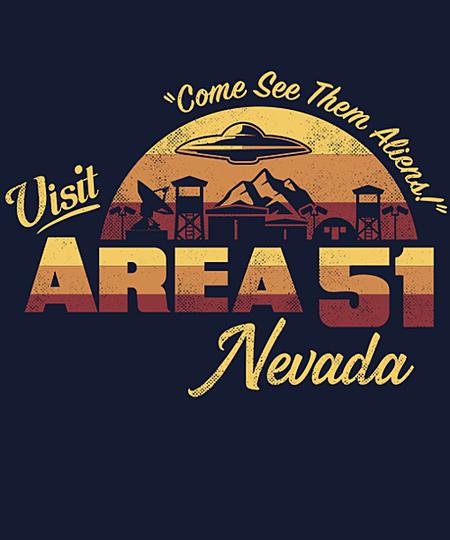 Qwertee: Visit Area 51