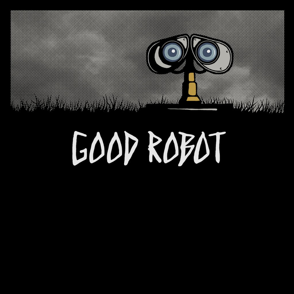 Pop-Up Tee: Good Robot