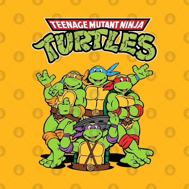 TeePublic: TMNT Turtles Teenage Mutant Ninja Awesome Art