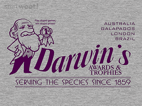Woot!: Darwin's Awards and Trophies