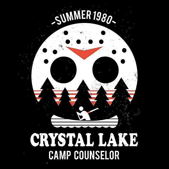 Once Upon a Tee: Crystal Lake Camp Counselor