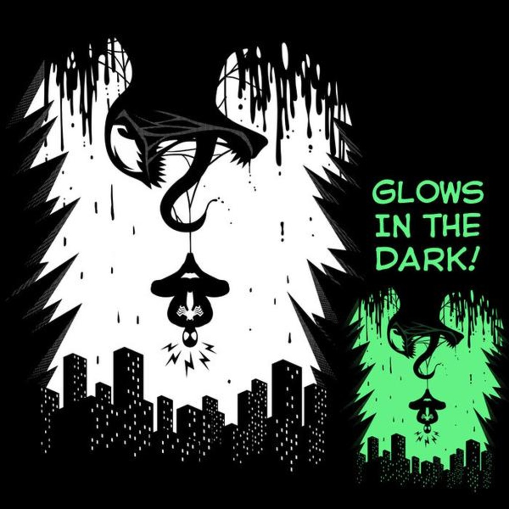 Tee11: Spider Alert – Glow In The Dark