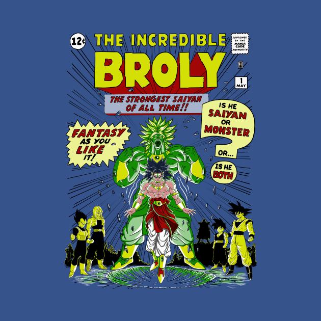 TeePublic: The incredible Broly