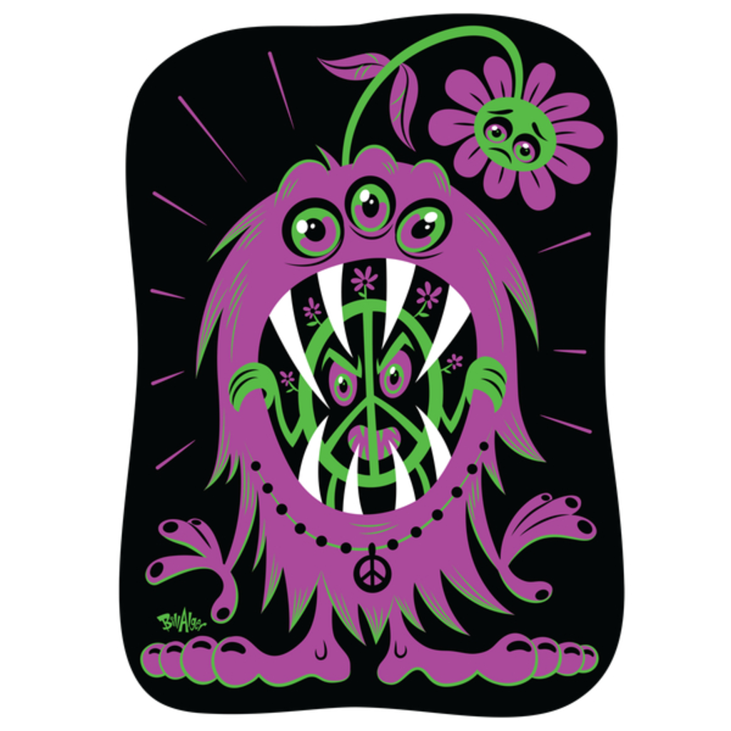 NeatoShop: Hippie Protest Monsters: Release Your Inner Peace!