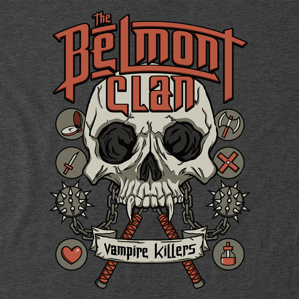 Pop-Up Tee: Belmont Clan