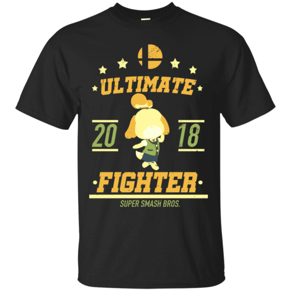 Pop-Up Tee: Ultimate Fighter Isabelle