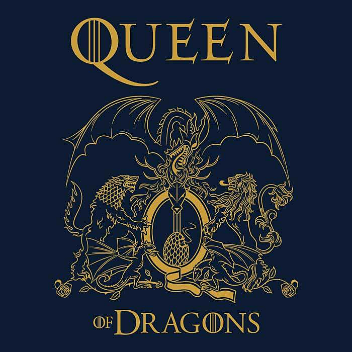Once Upon a Tee: Queen of Dragons
