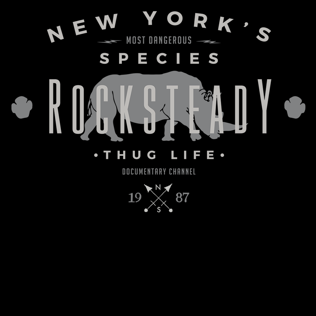 Pop-Up Tee: NY Species- Rocksteady