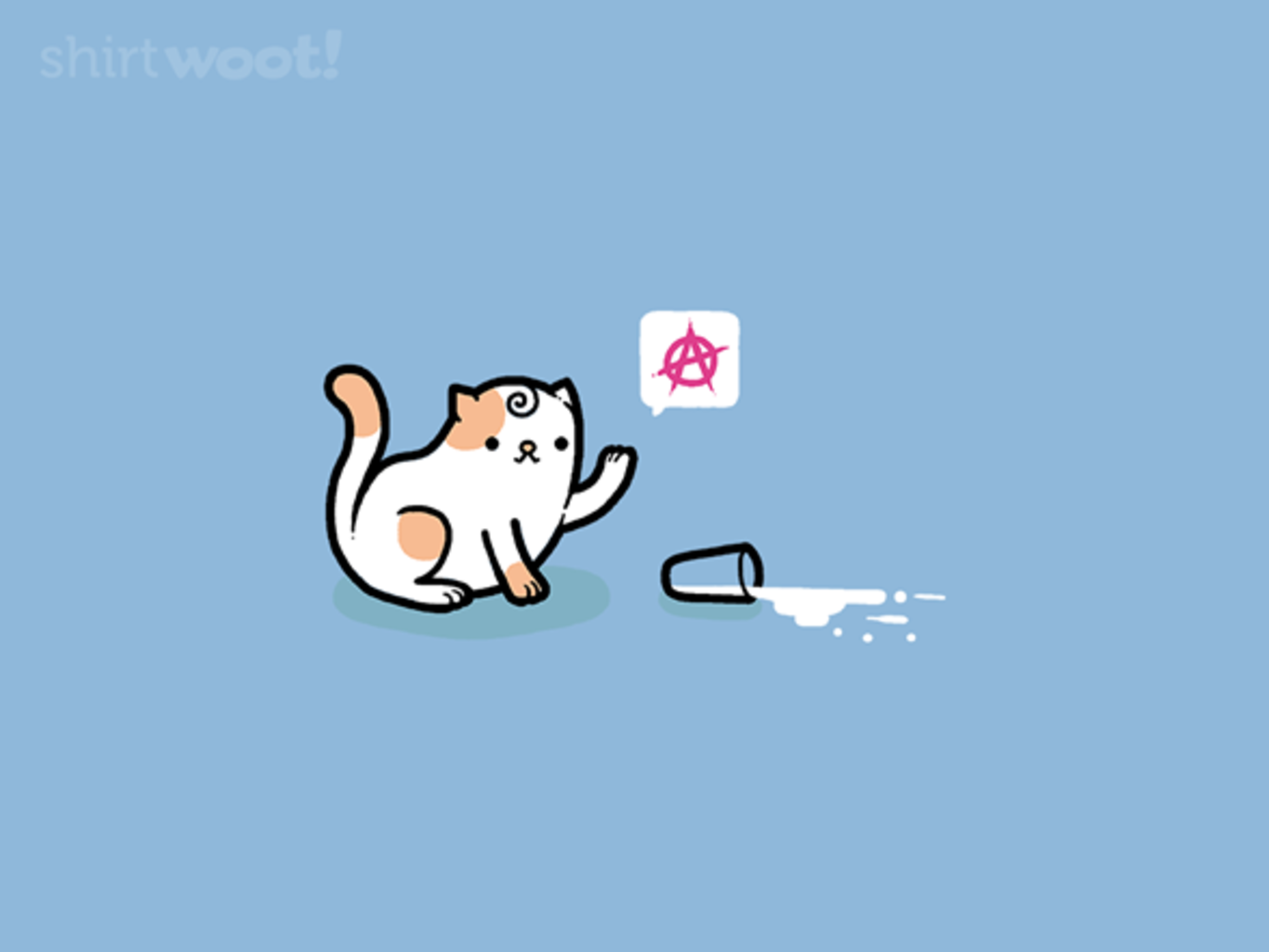 Woot!: Anarchy Cat - $8.00 + $5 standard shipping