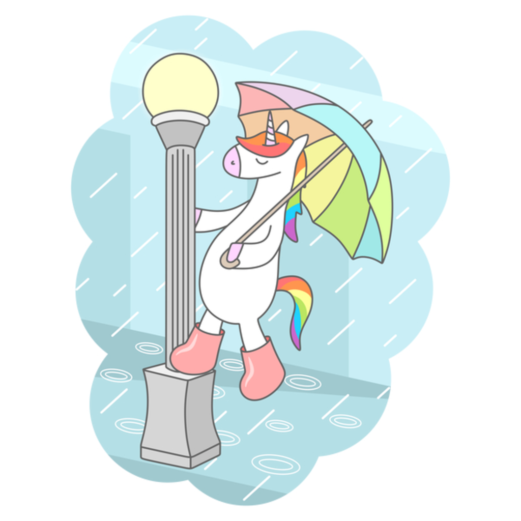 NeatoShop: Unicorn Singin In The Rain