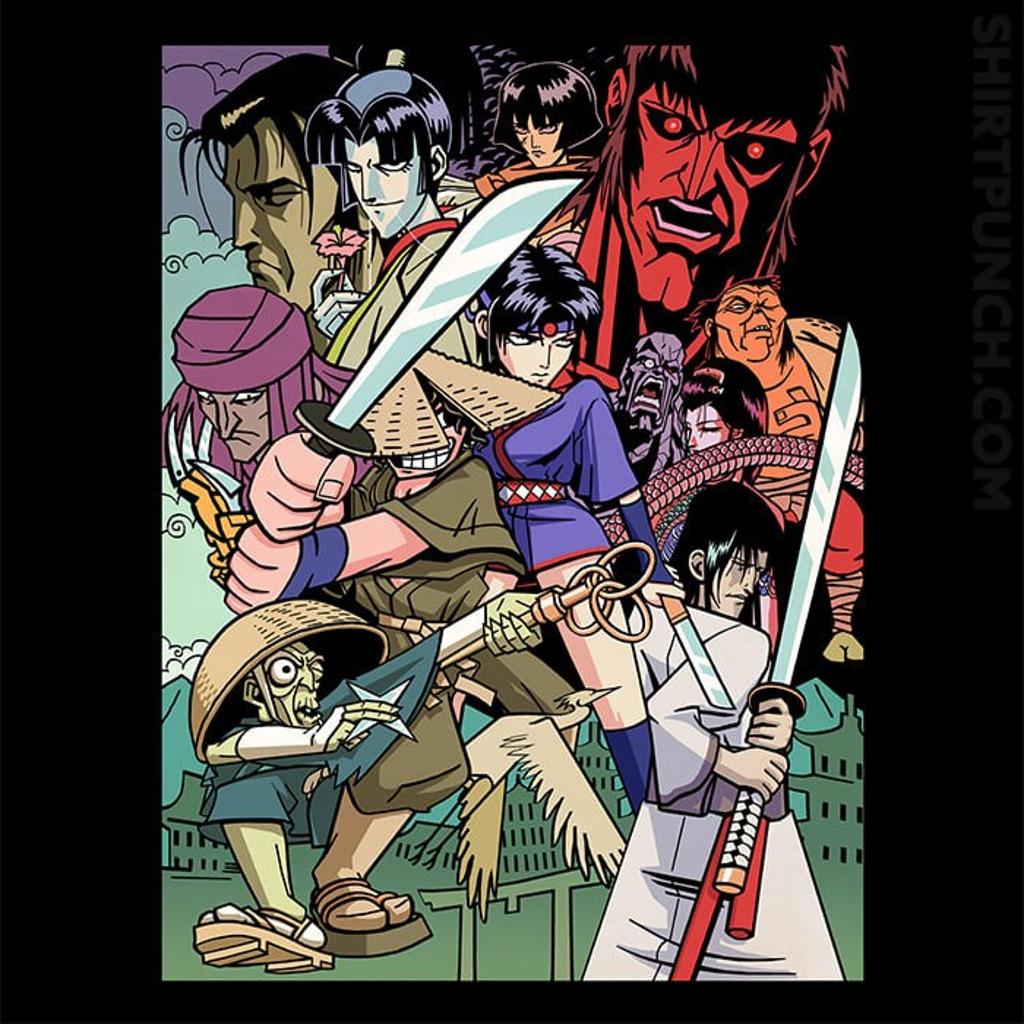 ShirtPunch: Ninja Scroll