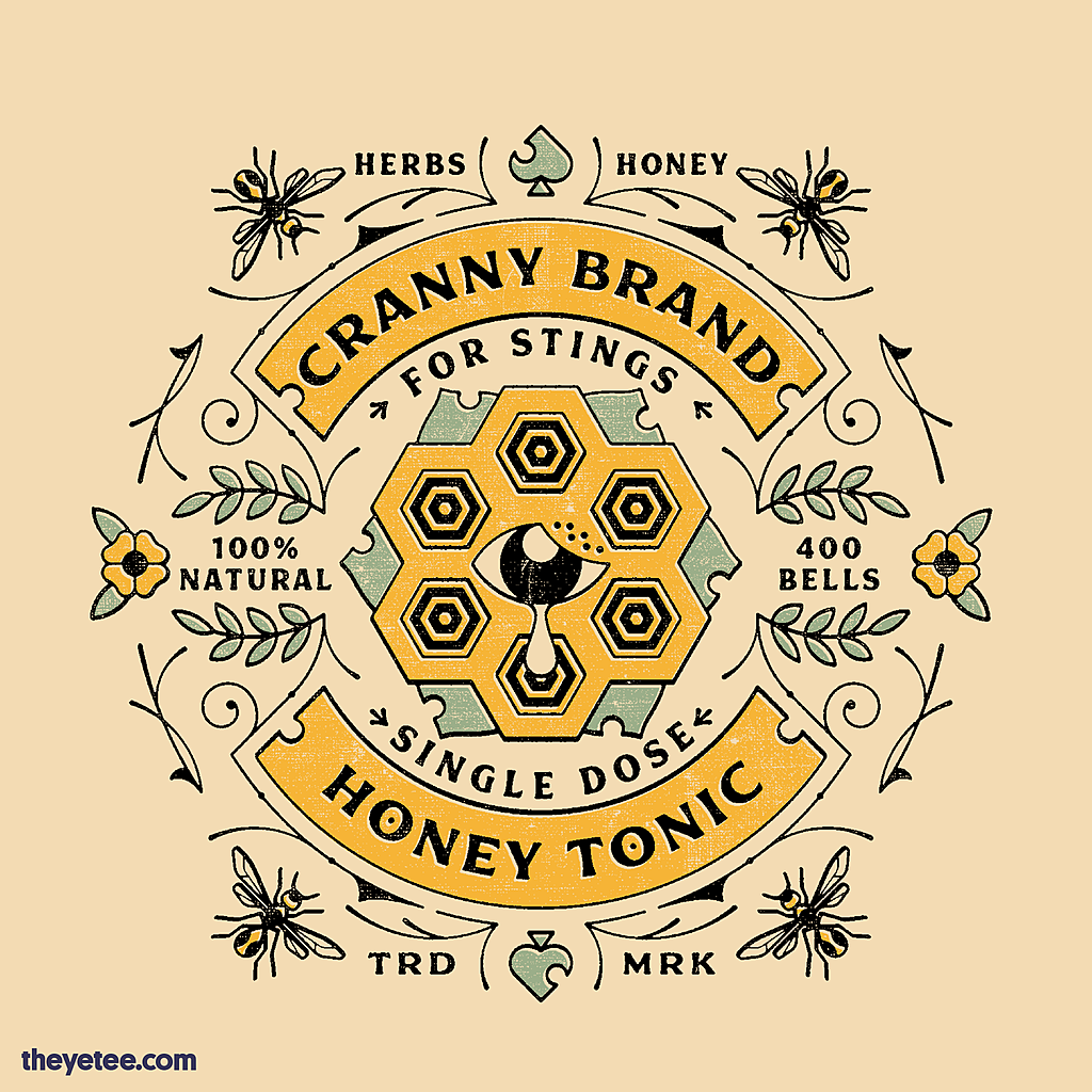The Yetee: Honey Tonic