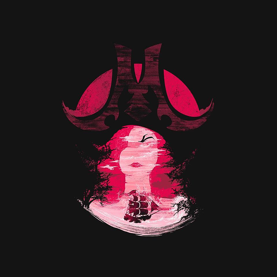 TeeFury: Scarlet Seas