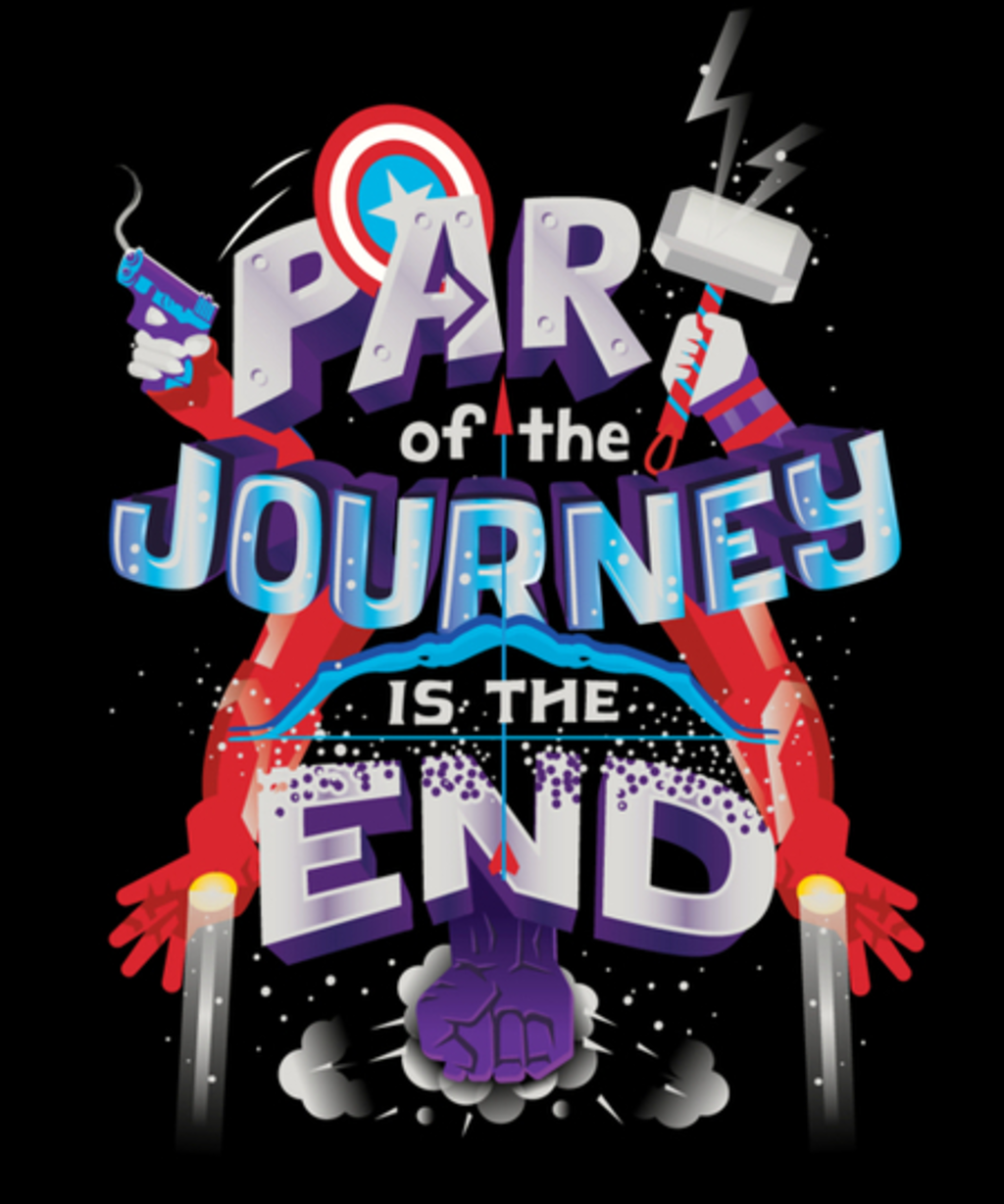 Qwertee: Part of the Journey