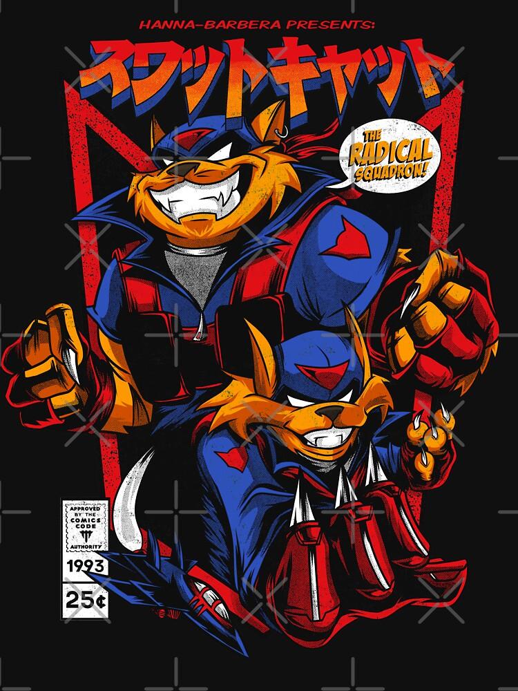 RedBubble: Swat-Kats T-shirt