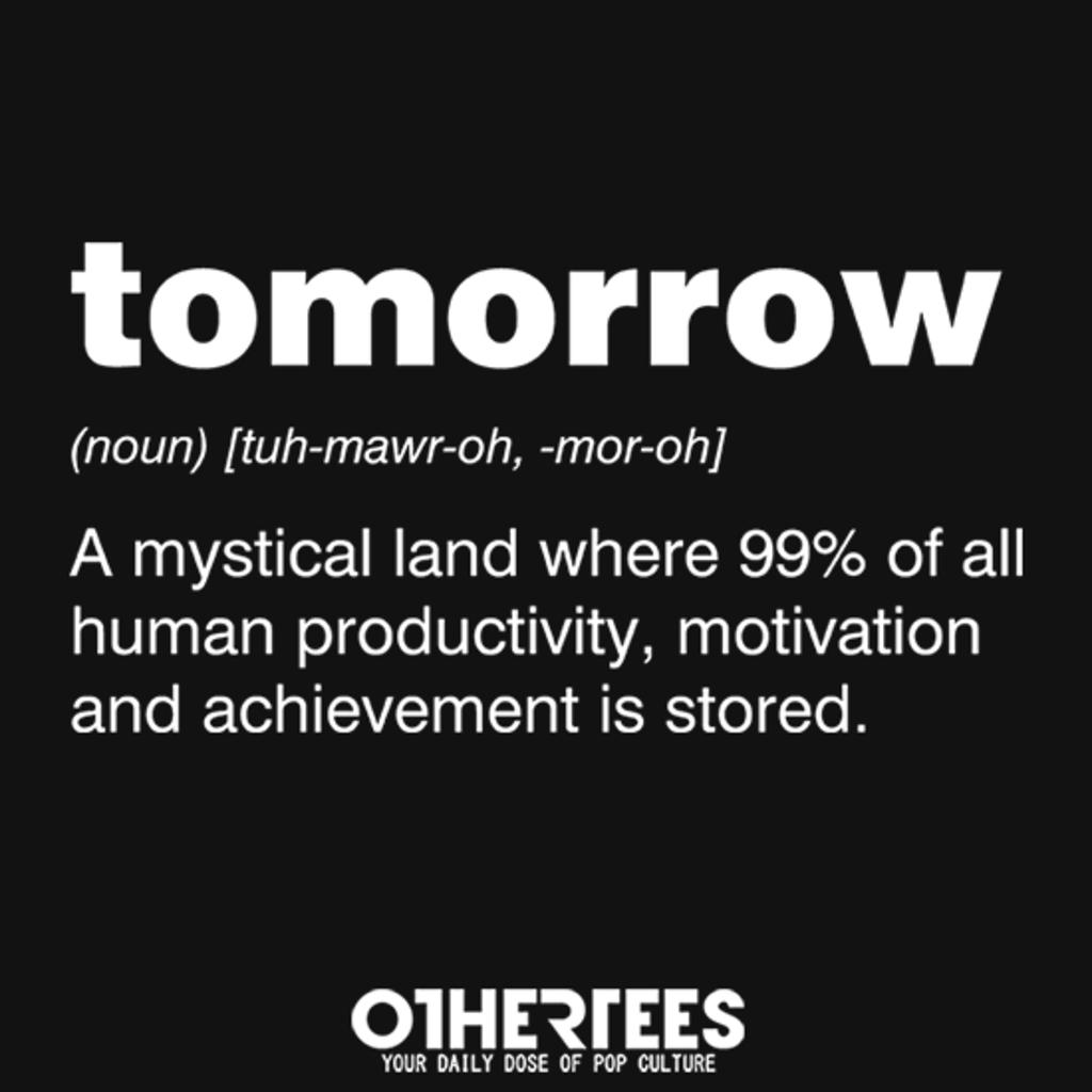 OtherTees: Tomorrow
