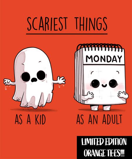 Qwertee: Scariest things