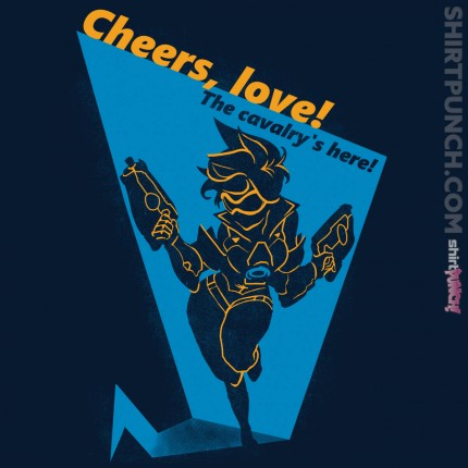 ShirtPunch: Cheers, Love!