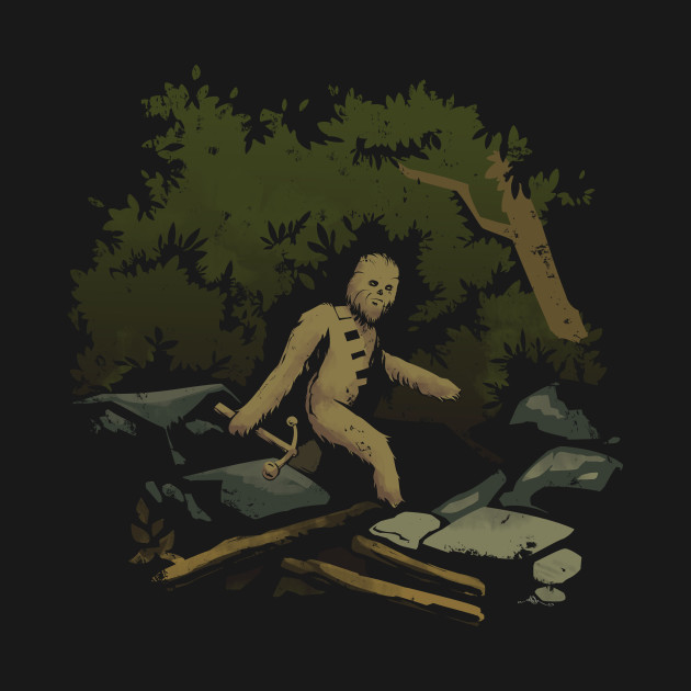 TeePublic: Wookiees Bigfoot
