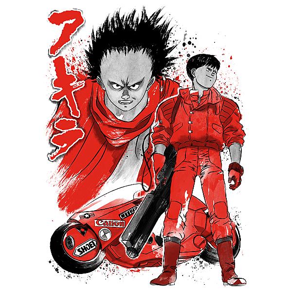 NeatoShop: Kaneda and Tetsuo sumi-e
