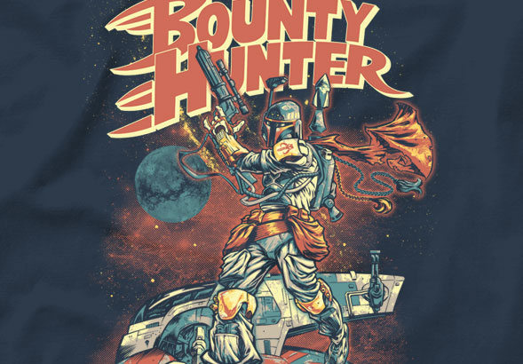 teeVillain: Go Bounty Hunter Go