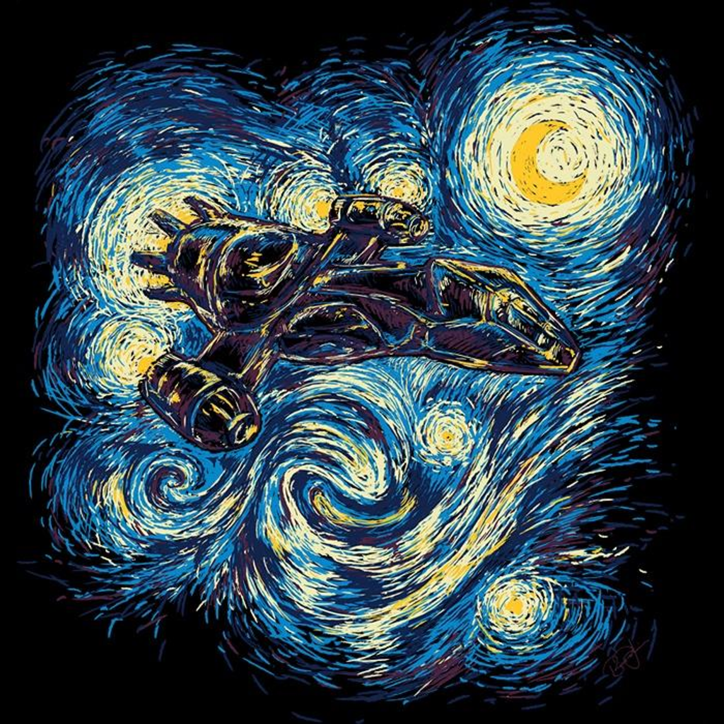Once Upon a Tee: Starry Flight - Women's Apparel