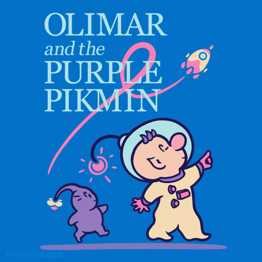 The Yetee: Olimar and the Purple Pikmin