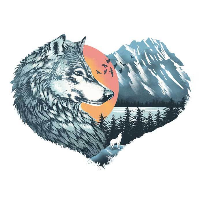 Once Upon a Tee: The Wild Heart Howls