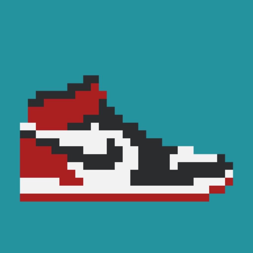 NeatoShop: 8-bit Jordan 1s
