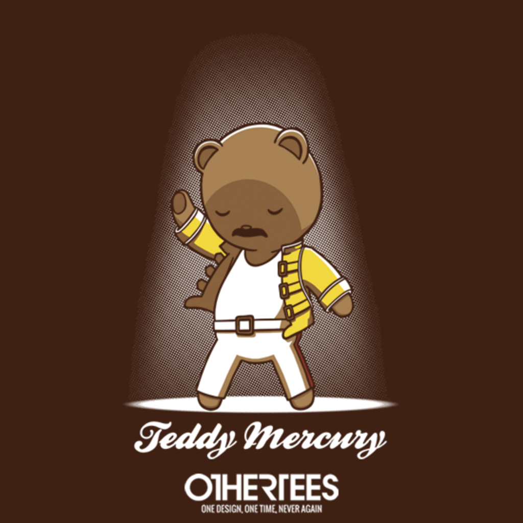 OtherTees: Teddy Mercury