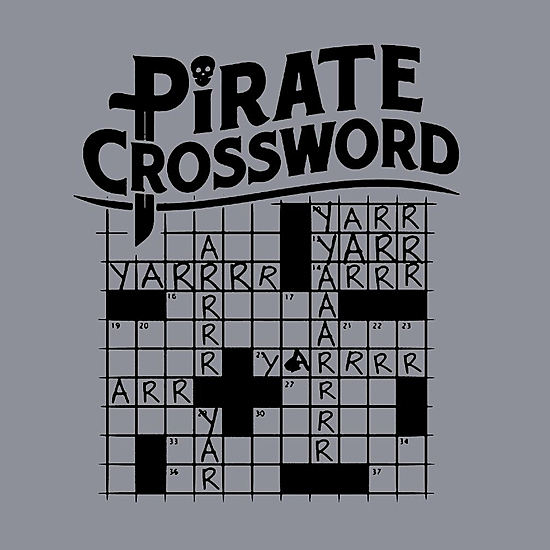 BustedTees: Pirate Crossword
