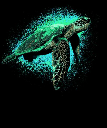 Qwertee: Sea Turtle