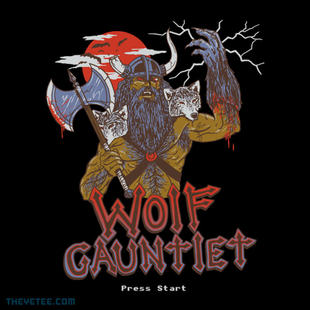 The Yetee: Wolf Gauntlet