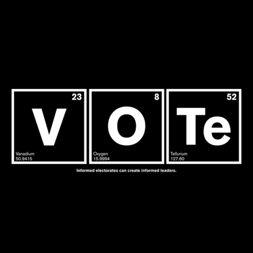 NeatoShop: VOTE for science