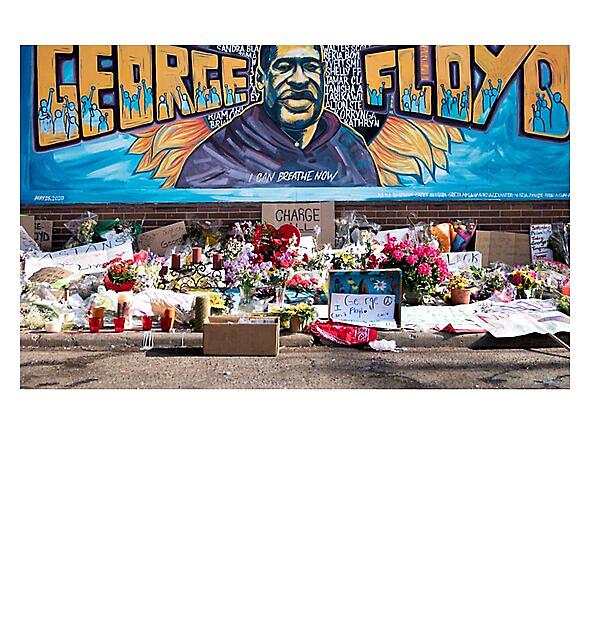 RedBubble: George Floyd Mural Still Can't Breathe T Shirt