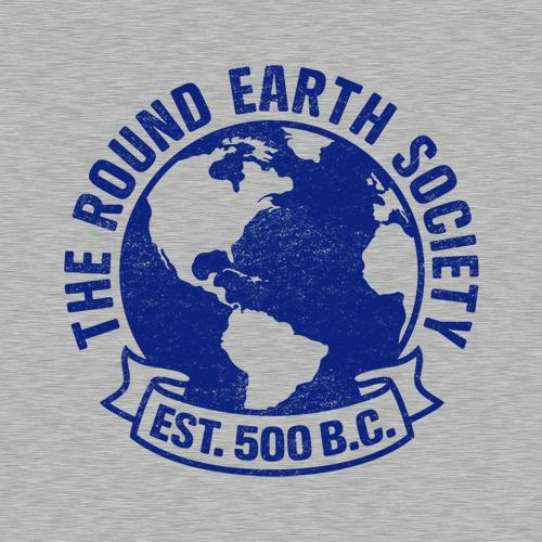 Five Finger Tees: The Round Earth Society T-Shirt
