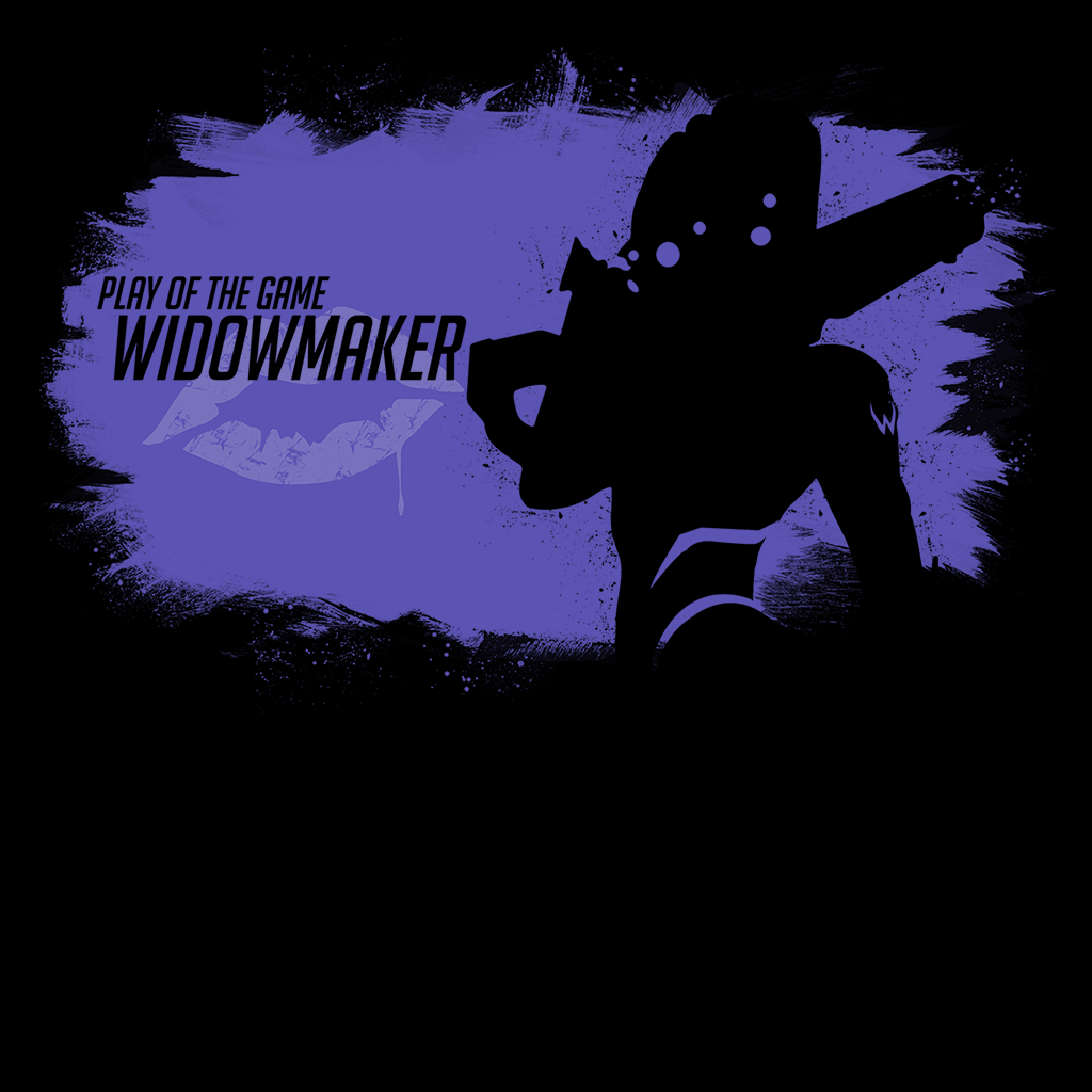 Pop-Up Tee: Play of the Game Widowmaker