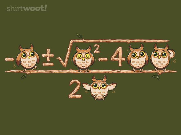 Woot!: Owlgebra