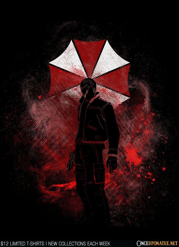 Once Upon a Tee: Umbrella Art