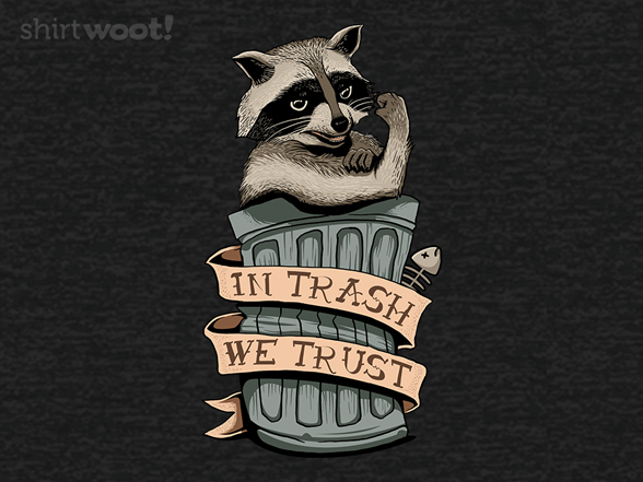 Woot!: Racoon In Trash