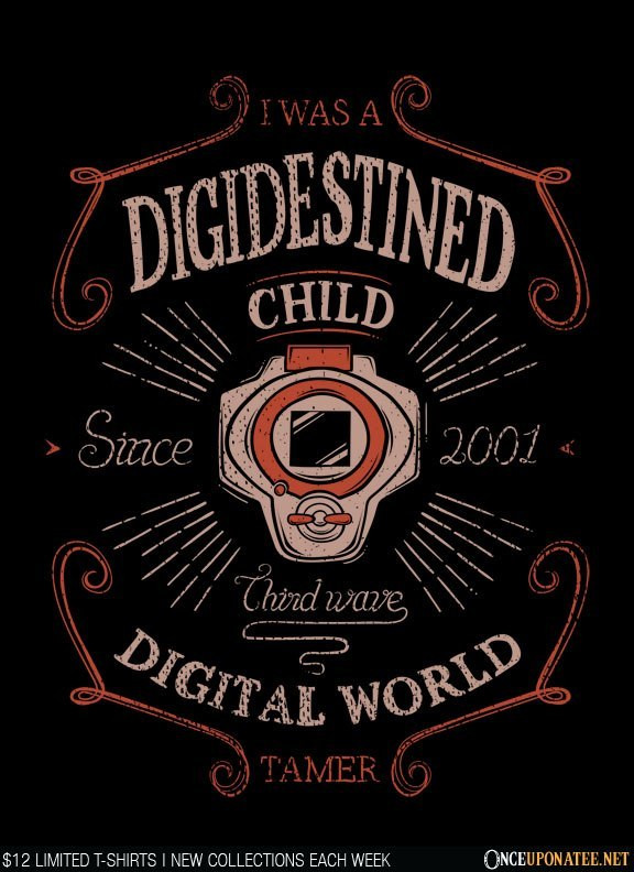 Once Upon a Tee: Digidestined: Third Wave